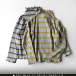 テレコボーダーフリルTシャツ