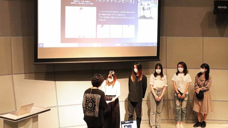 大阪モード学園、アダストリア、スマセル産学連携リメイク企画の表彰者を発表!